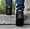 Зимові Кросівки ADIDAS TERREX з ХУТРОМ Чорні Чоловічі Черевики Адідас (розміри: 46)Відеоогляд, фото 2