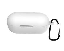 Чохол для навушників Haylou GT1 / Haylou GT1 Plus TWS Bluetooth від Xiaomi Колір Білий Silicone Case