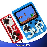 Ігрова приставка SUP Game Box 400в1 - Приставка Dendy для двох гравців, з джойстиком, з підключенням до ТБ