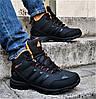 Зимові Кросівки ADIDAS Climaproof ХУТРОМ Чорні Чоловічі Черевики Адідас (розміри: 41,42,44,45)Відеоогляд, фото 4