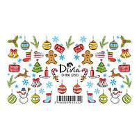 Divia Наклейки Слайдер-дизайн Di860 №253