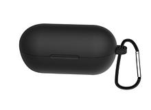 Чохол для навушників Haylou GT1 / Haylou GT1 Plus TWS Bluetooth від Xiaomi Колір Чорний Silicone Case