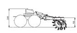 Двухрядный дисковый рыхлитель Bracke T35.b Bracke Forest, фото 3