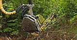 Валочная головка для рубок ухода и сбора биомассы Bracke C16.c Bracke Forest, фото 6