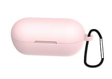 Чохол для навушників Haylou GT1 / Haylou GT1 Plus TWS Bluetooth від Xiaomi Колір Рожевий Silicone Case