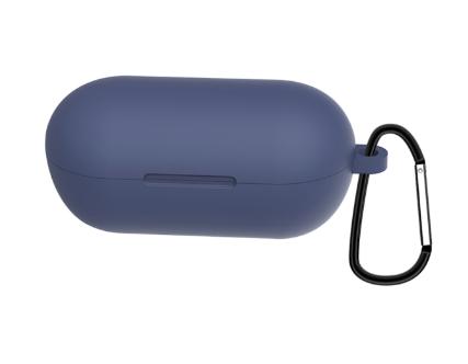 Чехол для наушников Haylou GT1 / Haylou GT1 Plus TWS Bluetooth от Xiaomi Цвет Тёмно-синий Silicone Case
