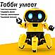 Танцующий светящийся интерактивный робот Dancing Robot  детская игрушка, фото 3