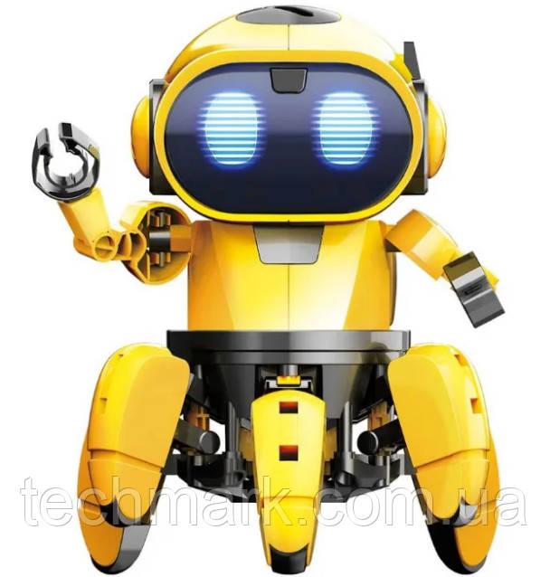 Танцующий светящийся интерактивный робот Dancing Robot  детская игрушка