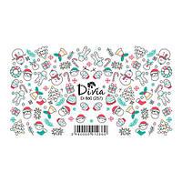 Divia Наклейки Слайдер-дизайн Di860 №257