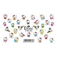 Divia Наклейки Слайдер-дизайн Di860 №256