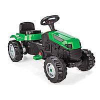 Детский трактор на педалях Pilsan (зеленый цвет)