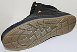 Ботинки осенние на байке мужские кожаные от производителя модель ВК002, фото 4