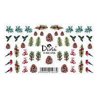 Divia Наклейки Слайдер-дизайн Di860 №254
