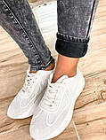 Мраморные теплые женские джинсы на флисе New jeans 31-557, фото 4