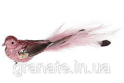 Декоративная птица на клипсе 20см (12шт)