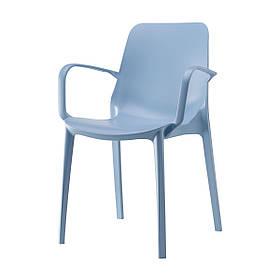 Крісло Ginevra  azzurro