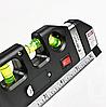 Лазерний рівень з вбудованою рулеткою, фото 3