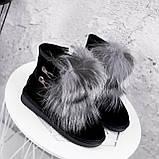 Угги женские Flex черные 2363, фото 2