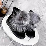 Угги женские Flex черные 2363, фото 6