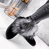 Угги женские Flex черные 2363, фото 8