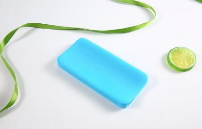 Силиконовый чехол для павербанка Xiaomi Redmi Power Bank 10000mAh Цвет Голубой