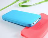 Силиконовый чехол для павербанка Xiaomi Redmi Power Bank 10000mAh Цвет Голубой, фото 2