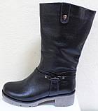 Сапоги на широкую ногу женские зимние большого размера от производителя модель РМ7435, фото 2