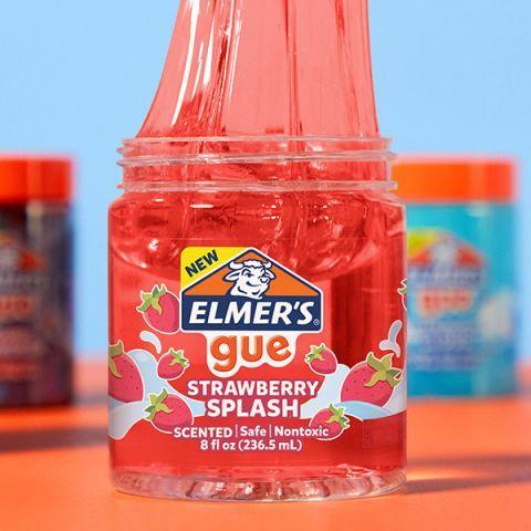 Прозрачный Слайм Элмерс Красный НОВИНКА! Elmer's Slime ОРИГИНАЛ Strawberry Splash Slime