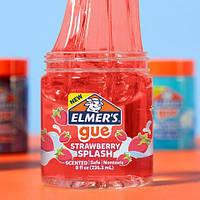 Прозрачный Слайм Элмерс Красный НОВИНКА! Elmer's Slime ОРИГИНАЛ Strawberry Splash Slime, фото 1