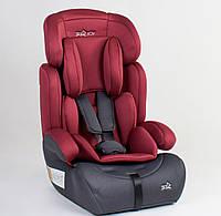 Универсальное автокресло Joy 1/2/3 (черно-красное) для детей весом от 9 до 36 кг