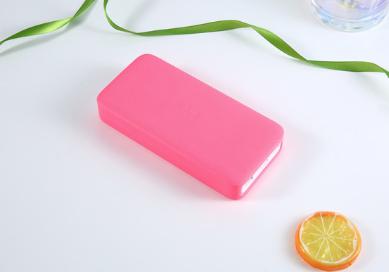 Силиконовый чехол для павербанка Xiaomi Redmi Power Bank 10000mAh Цвет Розовый