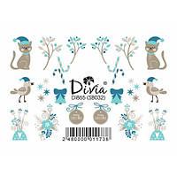 Divia Наклейки Слайдер Di865 №SB032