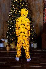 Кигуруми детские. Пижама кигуруми. Кигуруми для детей. Кигуруми пикачу. Кігурумі дитячі. Дитяча піжама, фото 3