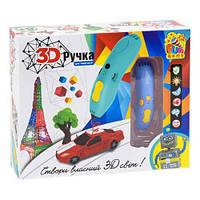 3D ручка Fun Game с набором пластика (синяя) 7424