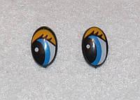 Глазки с ресничками 14346