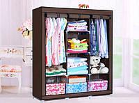 Портативный шкаф 3 секции Storage Wardrobe 88130, фото 1
