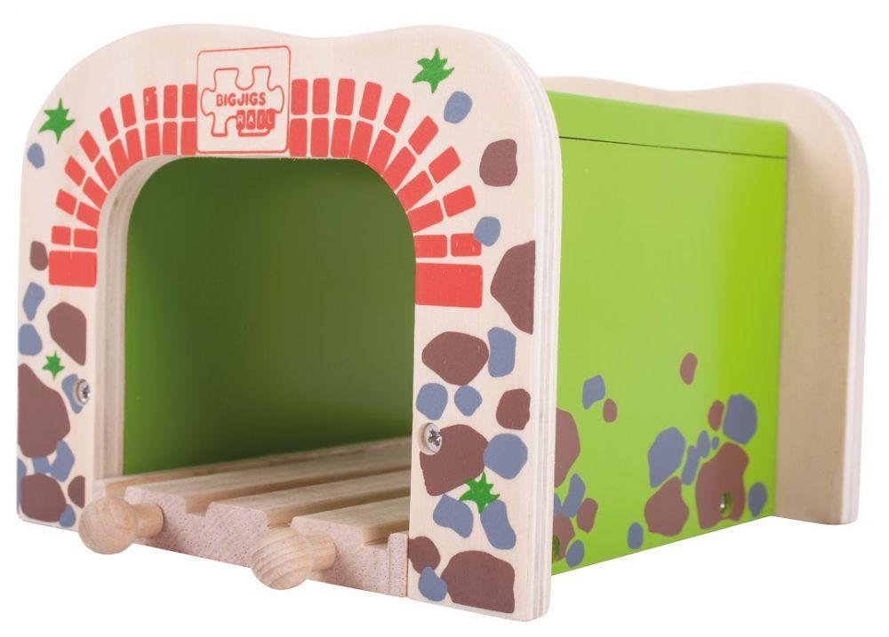 Двойной туннель для деревянной дороги Bigjigs