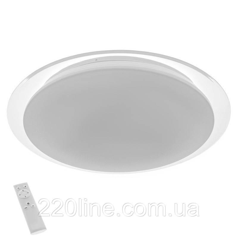 Светильник настенно-потолочный светодиодный с пультом W-622/30W RM