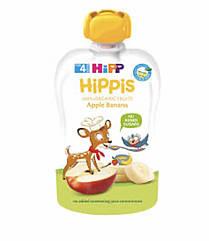 Пюре фруктовое органик яблоко-банан HiPP (Хипп) 100 гр с 4 месяцев