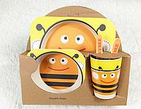 Бамбуковая посуда с Пчелкой., фото 1