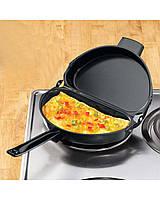 Двойная сковорода для омлета Folding Omelette Pan., фото 1