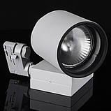 Светильник трековый поворотный под лампу KW-2/70W E27 SL, фото 2