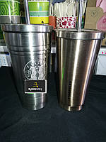 Термостакан Starbucks Stainless Steel Cup стальной 500 мл с трубочкой EL-272, фото 1