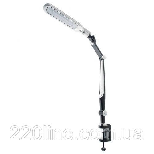 Настольная лампа на гибкой ножке на струбцине SL-61 10W BK