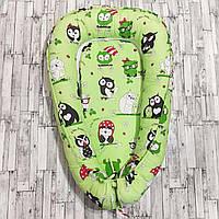 Кокон - гнёздышко для новорожденных с подушечкой