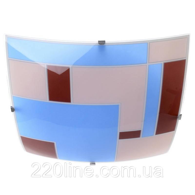 Светильник настенно-потолочный накладной W-373/2 E27 Orange/Blue