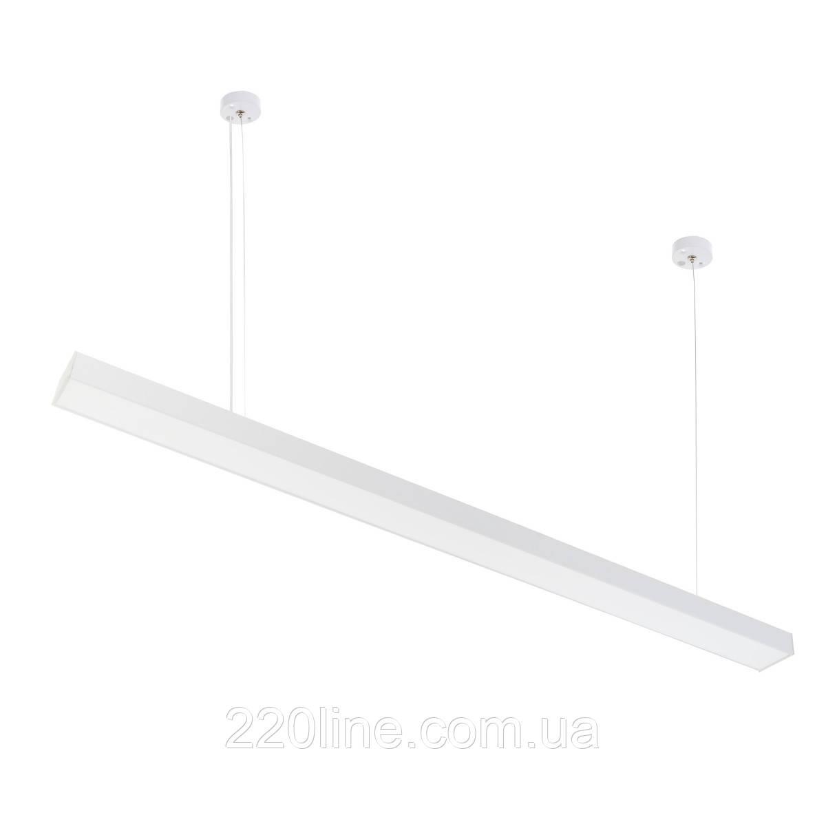Світильник підвісний лінійний офісний світлодіодний FLF-94/36W NW WH