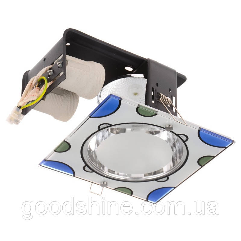 Светильник потолочный встроенный DL-27/2 E27 BL