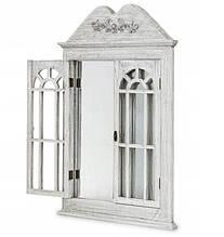 Зеркало в классическом стиле со ставнями 551