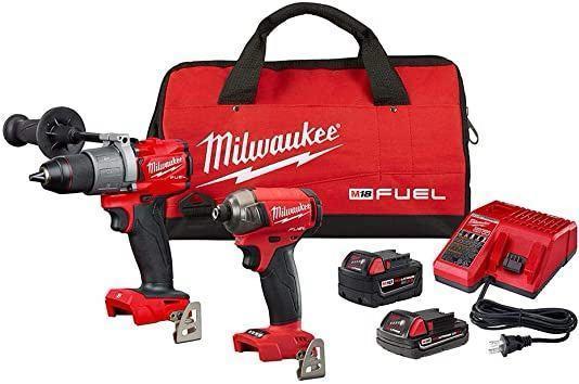 Набір інструментів Milwaukee 2999-22CX набір акумуляторних шуруповертів